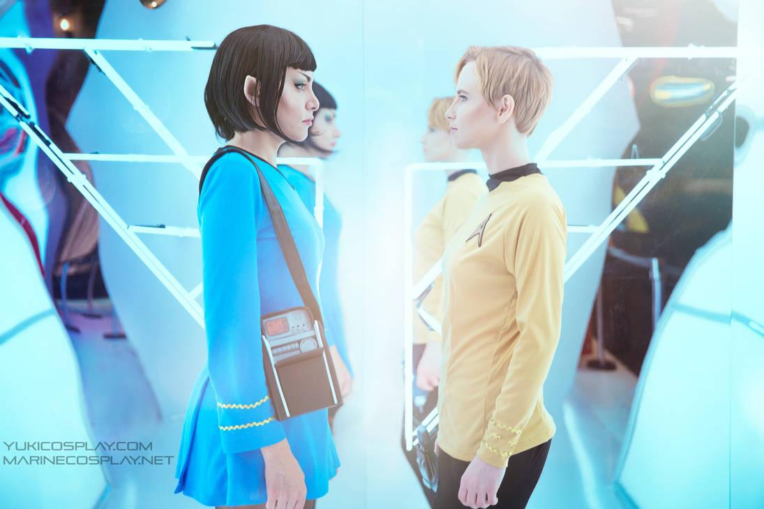[COSPLAY] Star trek - Spirk genderbend II by marinecosplaybr
