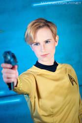 [COSPLAY] Star trek - Captain Jamie Kirk by marinecosplaybr