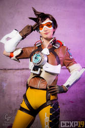 [COSPLAY] Overwatch Tracer