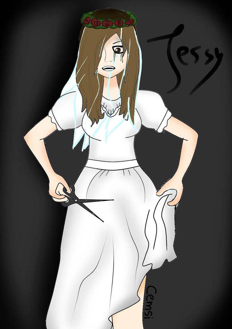 creepypasta oc [ jessy ] by CMSA27