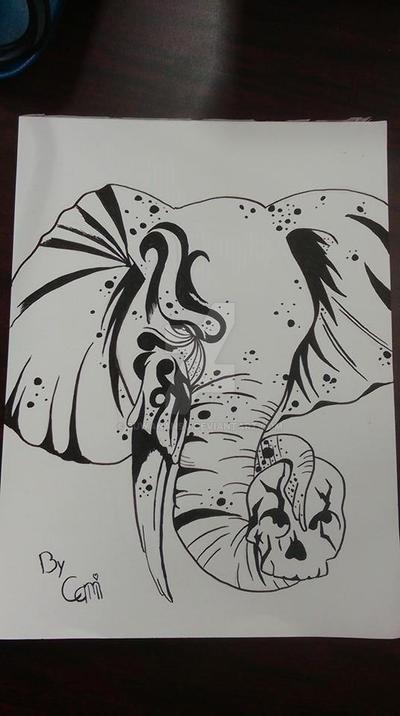 Elephant by BuwanAnsu