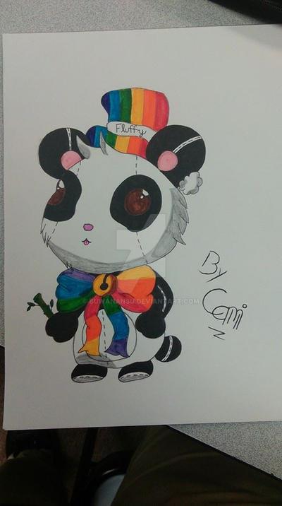 Panda Stuffy by BuwanAnsu