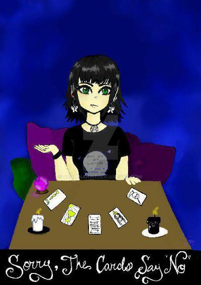 Tarot - Cards say no! by BuwanAnsu