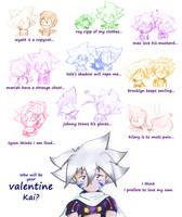 kai valentine contest by I-Am-Bleu
