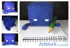 Artblock by I-Am-Bleu
