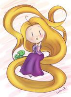 Rapunzel by I-Am-Bleu