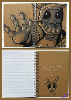 Faceless Bonnie Note Book