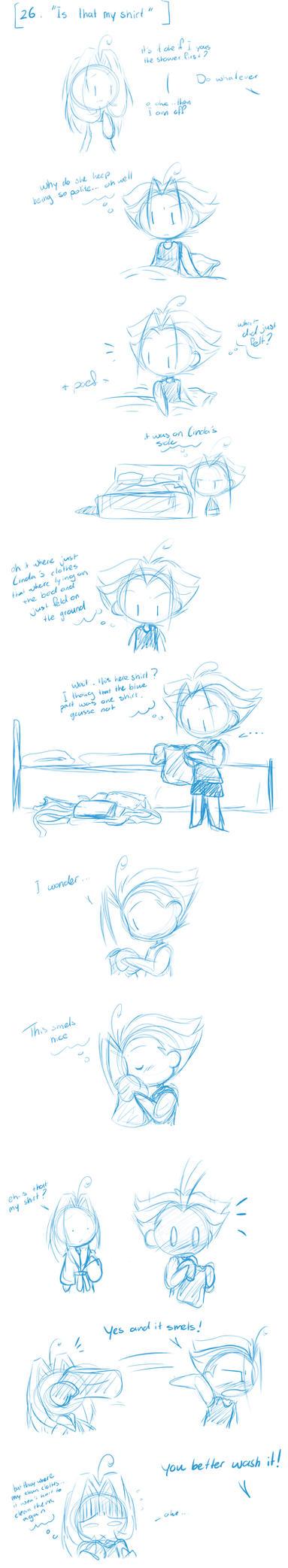 sketch dump question 26 by I-Am-Bleu