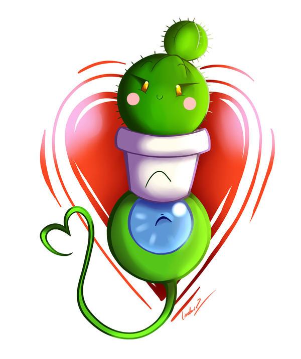 Cactus Love by I-Am-Bleu