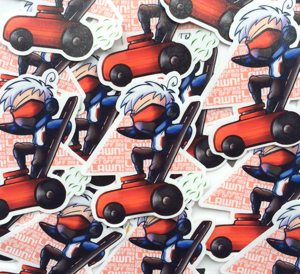 Overwatch Sticker soldier 76 by I-Am-Bleu