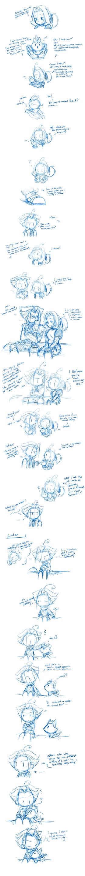 sketch dump talking about bitbeast by I-Am-Bleu