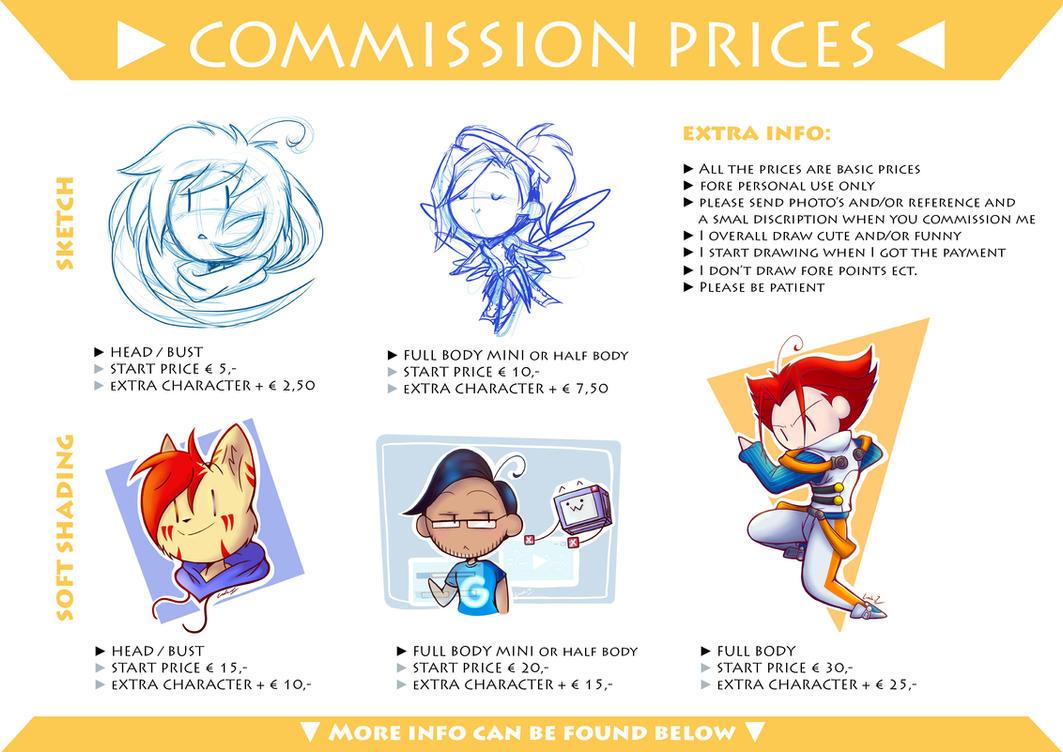 Commission Info by I-Am-Bleu