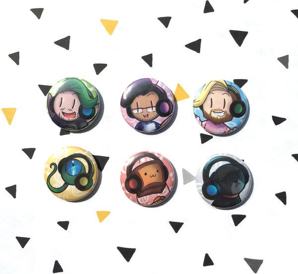 Music Buttons version 2 by I-Am-Bleu