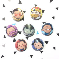Markiplier Egos button set