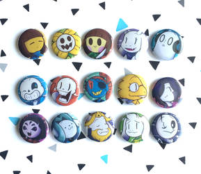 Undertale buttons