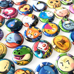 All animal crossing buttons