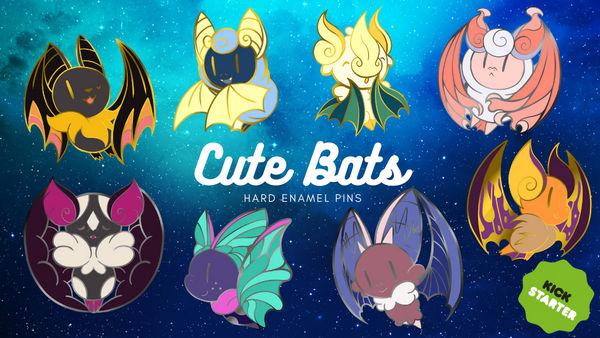 Cute bats Kickstarter