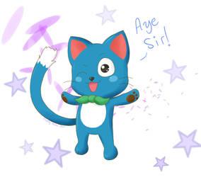 Aye Sir~ by FluffyNeko-chan