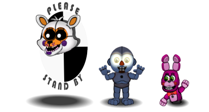 (Canon)FNAF World Characters : Part 5(TheWierdos) by CircusFredBear2003