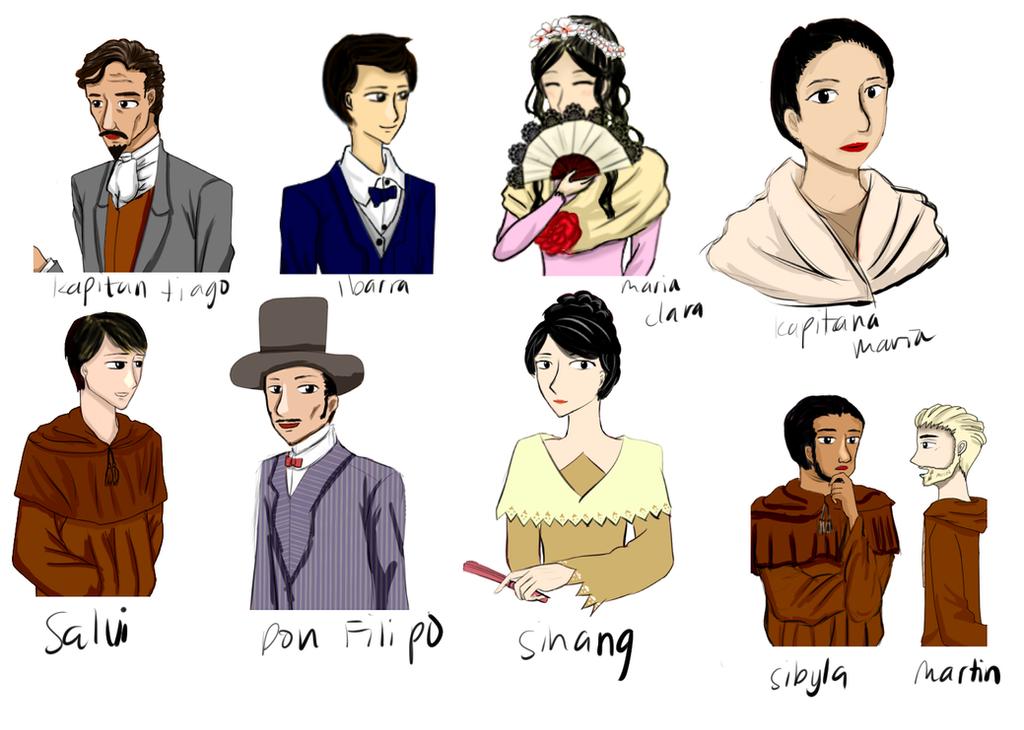 El filibusterismo characters symbolism | Coursework Example