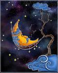 Moon-in-hammac
