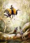 Bumblebee rider. by ArtNM13