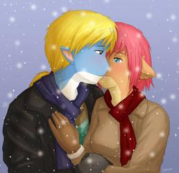 Winter's last kiss