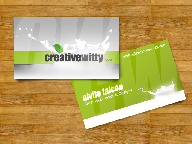 CreativeWitty - Business Card by alvito
