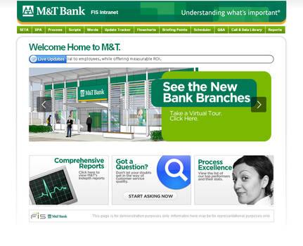 MT Bank Intranet