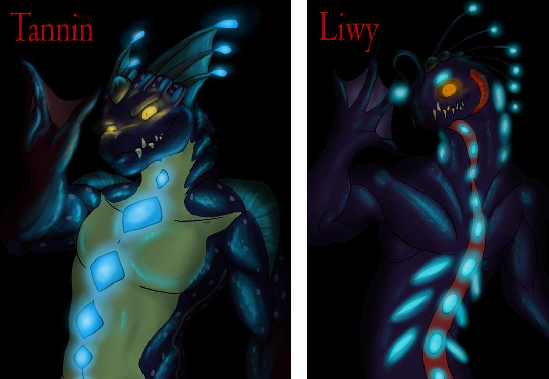 The Sea Dragons by kokiteno