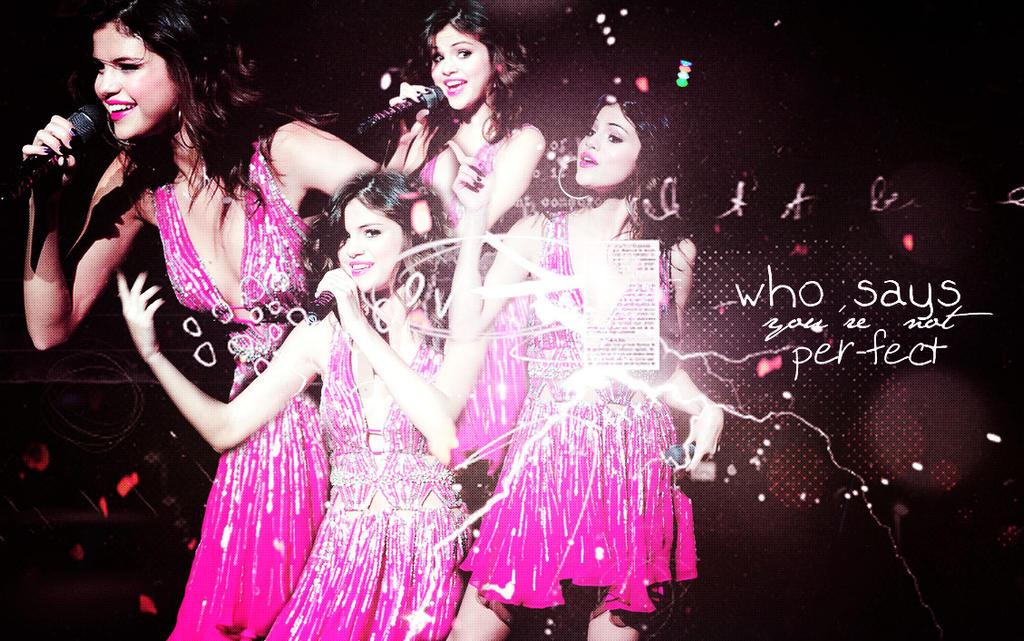 Selena Gomez Wallpaper (MY FIRST WALLPAPER) by Sissy895 on DeviantArt