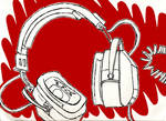 My Headphones by inisangelous