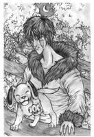 .Kiba and Akamaru. by kawaiitas