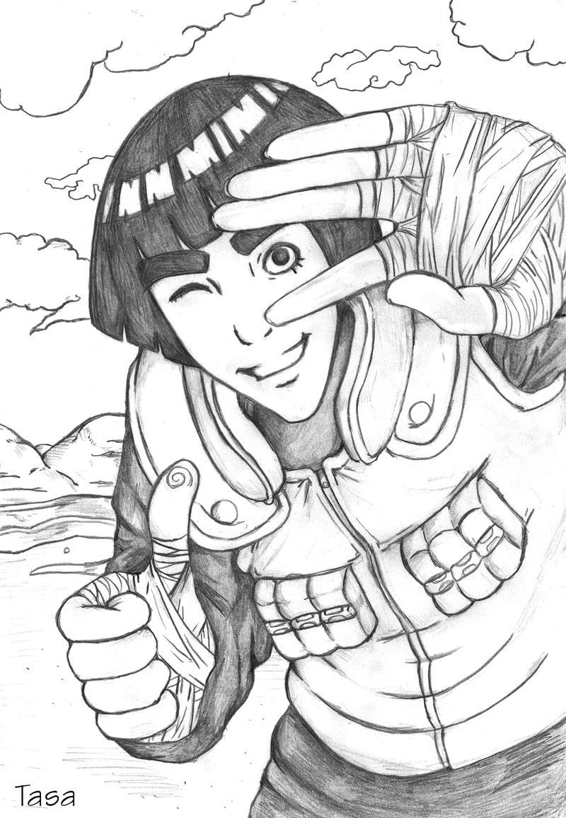 Naruto - Rock Lee by kawaiitas on DeviantArt