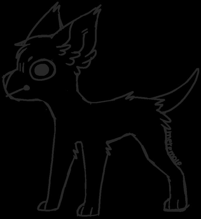 F2U Puppo Base By Meremolf On DeviantArt