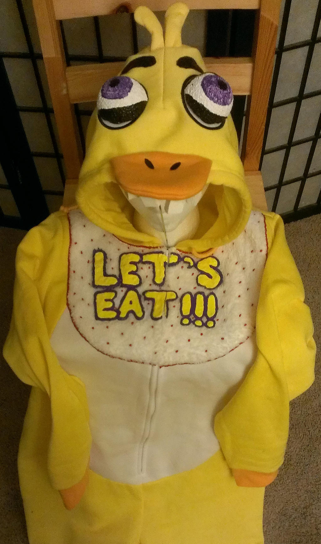 Chica Onesie, Five Nights at Freddy's by JlouCherryStar on ...