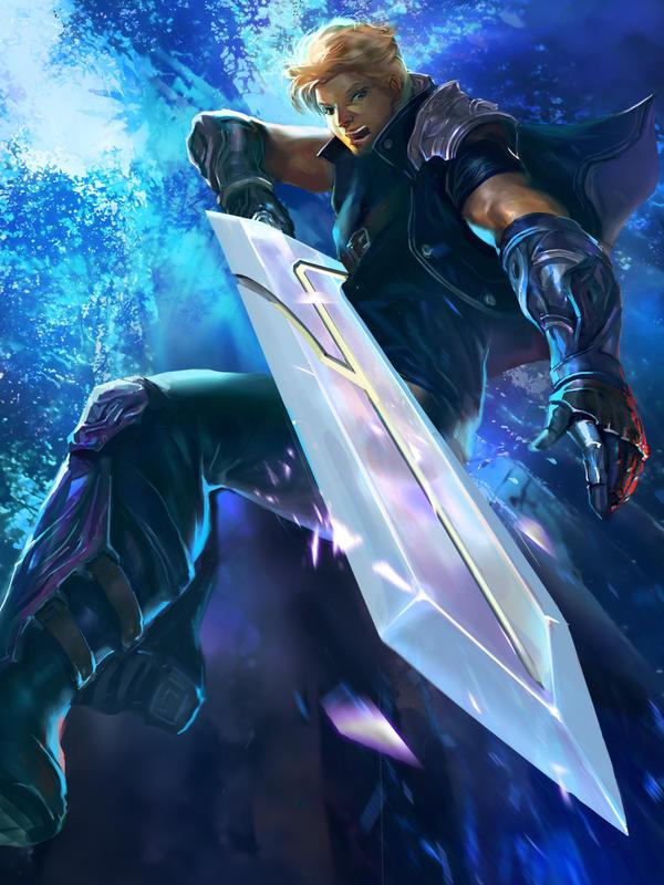 Sword man (version 2) by bloodyman88