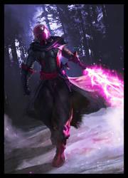 Pink man by bloodyman88