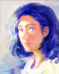 Blue and white by bloodyman88