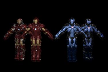 IM2 X360 HERO Iron Man MK3-MK5dlc by GR-85