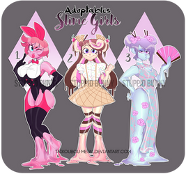Adoptable Slime Girls OPEN (Paypal and Points)
