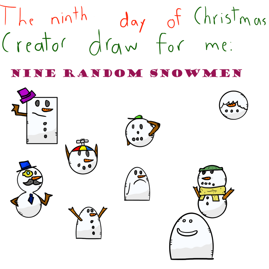 Ninth day of Christmas by Alat-the-ape on DeviantArt