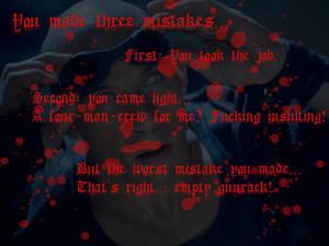 Riddick Quotes