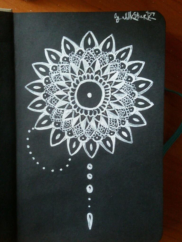 Black/White Mandala