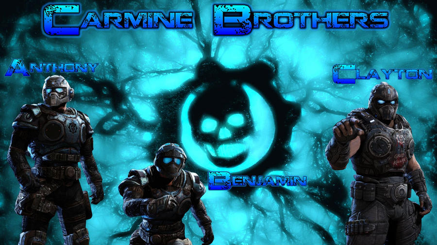 The carmine brothers by scaggs32 on deviantart - Gears of war carmine wallpaper ...
