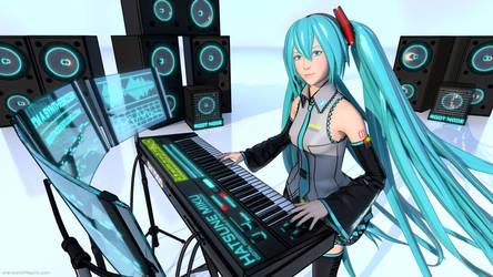 Hatsune Miku: I'm a Synthesizer Cover Art