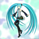 Hatsune Miku dance pose test