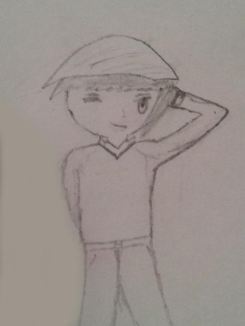 Cute Anime Boy Drawing By Jonathanelihu On DeviantArt