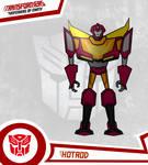 Transformers Defenders Of Earth! HotRod