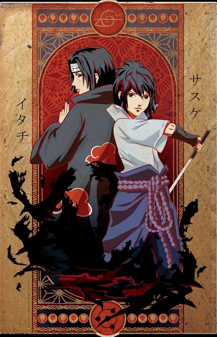 itachi and sasuke by toravi on DeviantArt